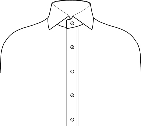 Placket front shirt,mens dress shirt