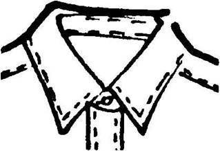 point collars for mens dress shirt