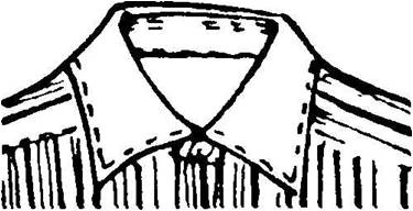 white contrast collars on mens dress shirts