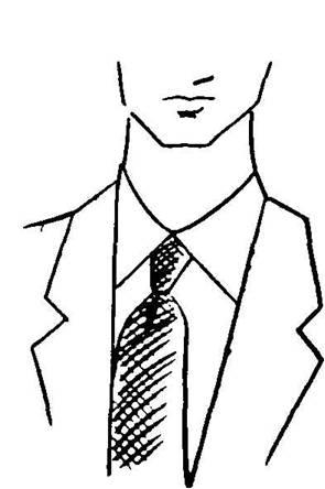 long neck high collar